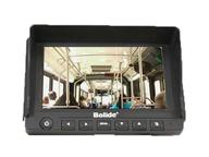 BV8007 7 inch Stand Alone Mobile Monitor w Sun Visor/Bracket/Mirror/Normal Image/2-Ch Video/audio/12/24VDC by Bolide
