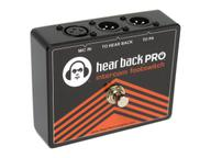 PROFTSW FOH vocal and PRO Intercom Footswitch by Hear Technologies
