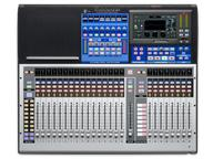 24-Ch Digital Mixer w Touch-Sensitive Moving Faders and 24 Remote XMAX Preamps