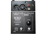 DB227 Podcast Pro Mic/Source Passive Mixer by Rolls