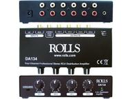 DA134 4 Channel RCA Distribution Amp by Rolls