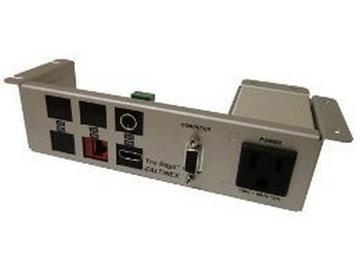 UT240-128S Under Table Hybrid AV Interconnect w VGA/HDMI/Network/3.5mm by Altinex