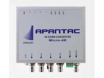 Micro-4K 4K UHD 4x 3G -SDI to SDI/HDMI Converter by Apantac