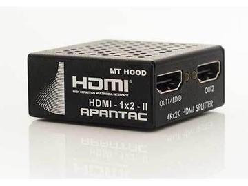 HDMI-1x2-II HDMI 1x2 Splitter (2nd Generation) by Apantac