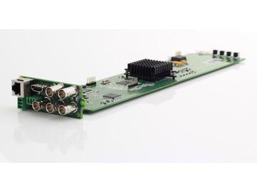 OG-MicroQ OPEN GEAR QUAD SPLITER /MULTIVIEWER 3G/HD-SDI/Composite by Apantac
