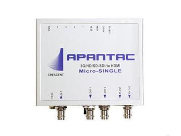 Micro-Single 3G to HDMI/SDI Scaler/Converter with Stereo Audio Output by Apantac
