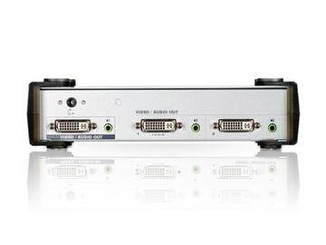VS162 2 Port DVI Video/Audio Splitter by Aten
