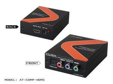 AT-COMP-HDMI-B Component Video with Optical to HDMI Converter by Atlona