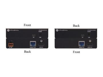 AT-UHD-EX-70-KIT-B 4K/UHD HDMI Over HDBaseT Extender(Receiver/Transmitter) Kit with PoE by Atlona