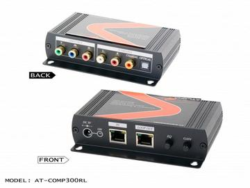 AT-COMP300RL-b Component video with analog/digital audio Extender (Receiver) with cat5/6/7 loop-out by Atlona