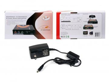 AT-COMP500-b Component Video to S-Video and Composite Video Down Converter by Atlona