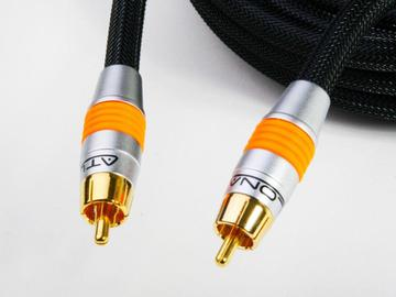 AT22060-5 5M (16FT) DIGITAL COAXIAL (SPDIF) AUDIO CABLE by Atlona
