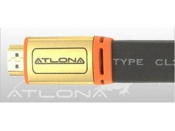 ATF14031B-5 5m/16ft Flat HDMI Cable/HDMI 1.3 rated/Black by Atlona