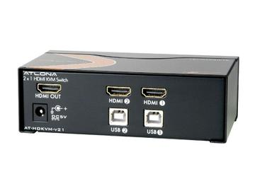 AT-HDKVM-V21 2x1 HDMI KVM Switch by Atlona