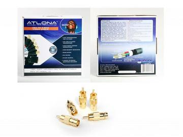 AT19082L-10-CL44 10M (33FT) VGA TO RGBHV (BNC) / RGBHV (BNC) TO VGA BREAKOUT VIDEO CABLE by Atlona