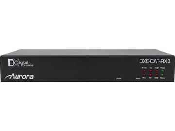 DXE-CAT-RX3C-A HDBaseT HDMI Extender (Receiver) 330/600ft with Ampflier by Aurora Multimedia