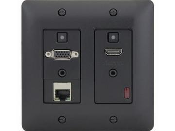 DXW-2E-B HDMI/VGA/Ethernet HDBaseT WP Extender (Transmitter)Black by Aurora Multimedia