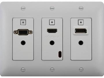 DXW-3-W HDMI/VGA/DisplayPort WP Extender (Transmitter) White by Aurora Multimedia