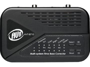 AVT-8710 Multi Standard Time Base Corrector by AV-Tool