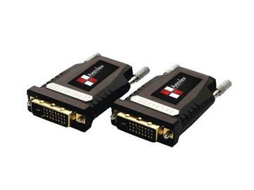 FO-DVI-1000M-EMIX DVI Extender(Transmitter/Receiver) Set over Fiber with EDID by Avenview