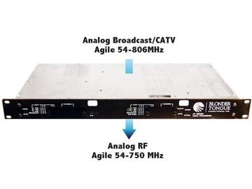 AP-40-550B Agile Heterodyne Processor with EAS by Blonder Tongue