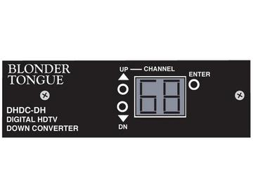 DHDC-DH Digital and High Definition Processor Downconverter by Blonder Tongue