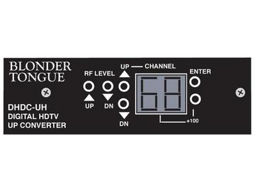 DHDC-UH Digital and High Definition Processor Upconverter by Blonder Tongue