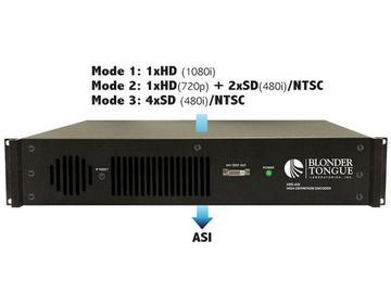 HDE-ASI HD Encoder 1 ASI Output 1 HD-SDI or 4 SDI/4 NTSC inputs by Blonder Tongue