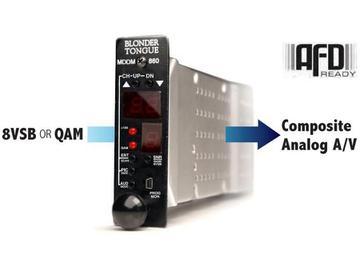 MDDM-860 HE-12 and HE-4 Series ATSC/QAM Demodulator by Blonder Tongue