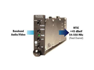 MICM-45D HE-12 and HE-4 Series Channelized Audio/Video Modulator by Blonder Tongue