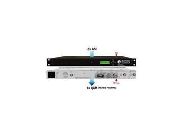 MUX-2D-QAM 2x1 Digital 8VSB or QAM to QAM ASI Multiplexer by Blonder Tongue