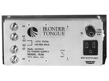 PS-1536 21 VDC At 100mA Power Supply Dual Output by Blonder Tongue