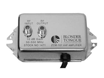 ZCM-101 Broadband VHF/CATV Distribution Amplifier by Blonder Tongue
