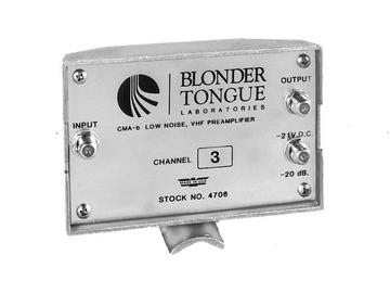 CMA-BB Broadband VHF mast mounted low noise Preamplifier by Blonder Tongue