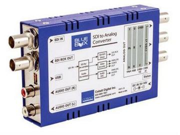 BBG-S-TO-A HD/SD-SDI to HD/SD Analog Compon/Compos Converter w A De-Emb by Cobalt Digital