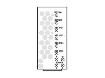 RM20-9901-B-HV-DIN 20-slot Frame Rear I/O Mod (St W/Hi-Vent) 3G/HD/SD-SDI by Cobalt Digital