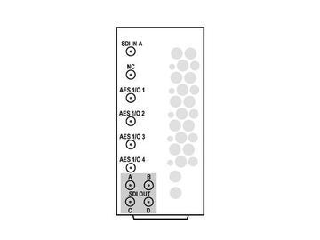 RM20-9931-F-HV2-HDBNC 20-slot Frame R I/O Mod (St W/Hi-Vent) 3G/HD/SD-SDI by Cobalt Digital