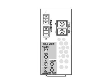 RM20-9931-XF-HV-HDBNC 20-slot Frame R I/O Mod (St W) CVBS/Comp (w HV RM) by Cobalt Digital