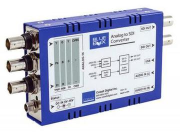 BBG-A-TO-S HD/SD Analog Component/Composite to HD/SD-SDI Converter by Cobalt Digital