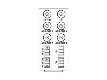 RM20-9345-B 20-slot Frame Rear I/O Module (Stand Wdth) Balanced AA by Cobalt Digital