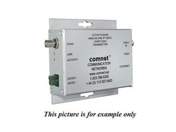 CLTVE1COAX/M Analog Baseband Video/Ethernet Over RG59 Coaxial Cable Extender (Transmitter) by Comnet
