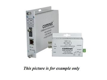 CNFE1002M1A 1fiber Multimode ST Connector Small 100Mbps Media Converter (1310/1550nm) by Comnet
