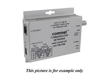 CNFE1EOC-M 10/100Mbps Media Converter Commercial Grade Ethernet to Coax/Small Size by Comnet