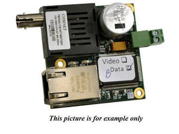 CNFE1S1A/2 1fiber SM ST connector (A) 100Mbps InDome Media Converter by Comnet