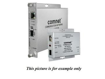 CNFE2MCPOE 100Mbps Ethernet Media Converter 48V POE by Comnet