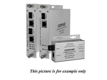 CNMCSFP/M 10/100/1000Mbps MultiRate Media Converter 100FX/1000FX Small by Comnet
