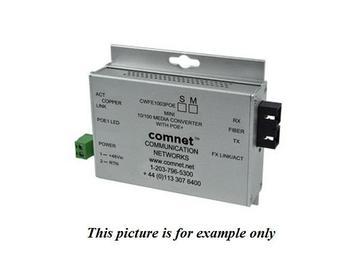 CWFE1002BPOESHO/M 1 Fiber SM Commercial 100Mbps Media Converter/ST/A Unit/POE by Comnet