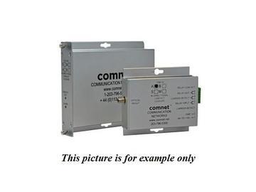 FDC10M1A MM 1Fiber Bi directional Contact Closure Transceiver by Comnet