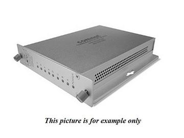 FDC8NLRS1 1 Fiber SM 8 Channel Contact Closure Extender(Receiver)/Non Latching by Comnet