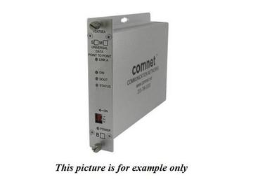 FDX70EBS1 1Fiber SM Universal Data Point To Point/B End/Extender(Transceiver) by Comnet